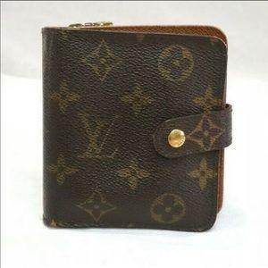 Louis Vuitton Compact Monogram Wallet